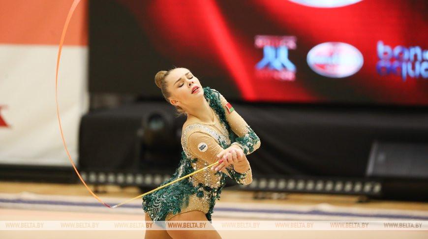 Белорусские грации успешно выступили в первый день международного турнира на призы Марины Лобач
