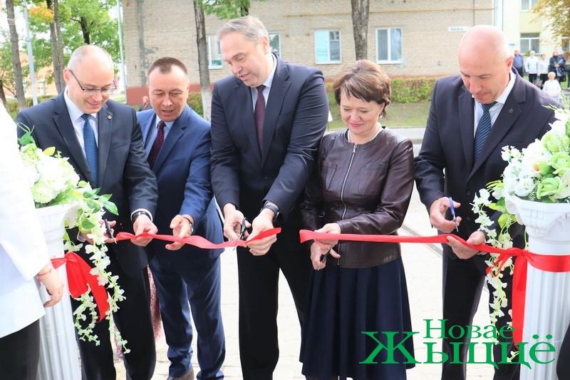 В Новогрудке открыли новое здание филиала Гродненского агентства по госрегистрации