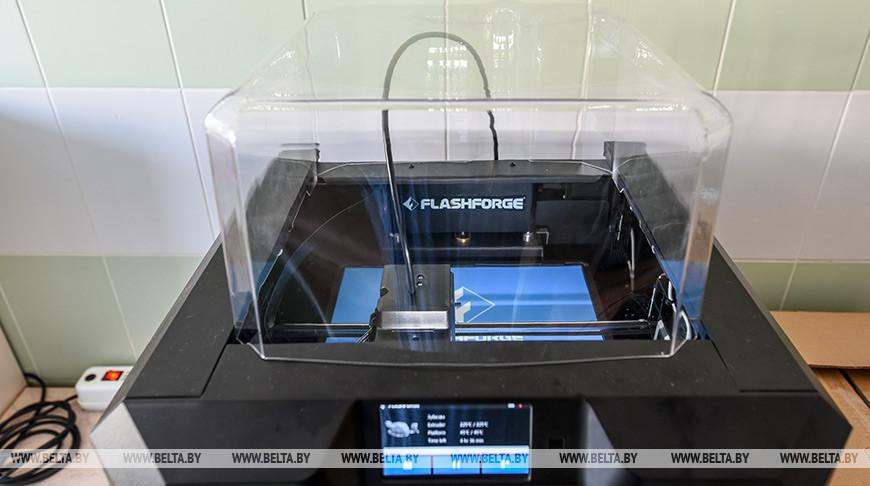 В Беларуси для медиков будут печатать средства защиты на 3D-принтерах