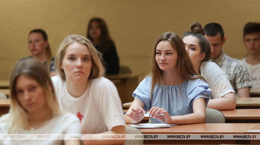 В Беларуси проходит второй день ЦТ по математике