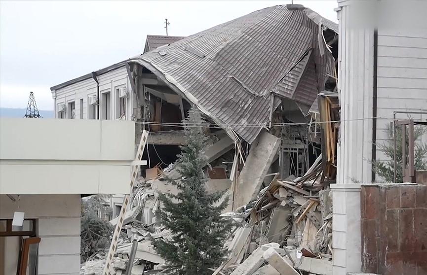 Война в Нагорном Карабахе: Степанакерт – в руинах