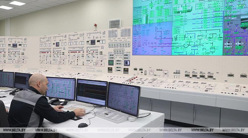 Первый энергоблок Белорусской АЭС отключён от сети на неделю