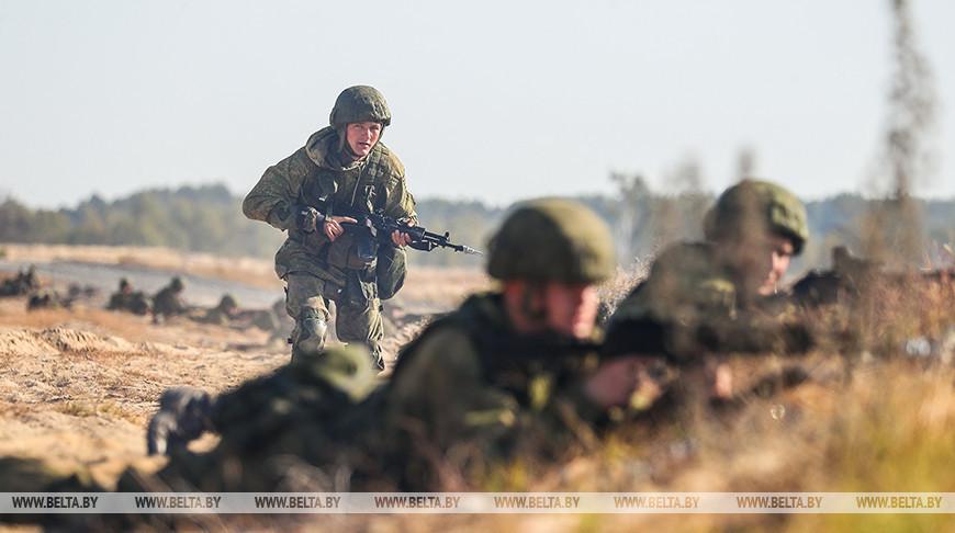 Во время учения «Славянское братство — 2020» отрабатывается защита границ Союзного государства