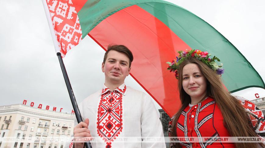 В Беларуси объявлен конкурс творческих работ к 25-летию государственных символов