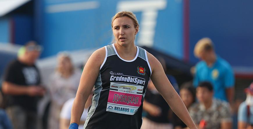 Белорусская толкательница ядра Алена Дубицкая квалифицировалась в финал Олимпиады