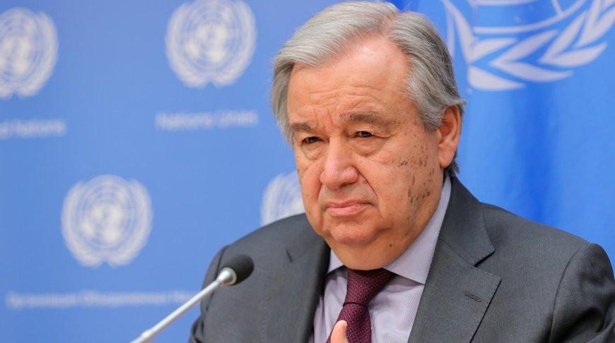 Генсек ООН: ситуация с COVID-19 выходит из-под контроля