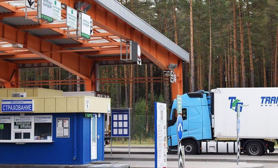 С сегодняшнего дня в пункте пропуска «Берестовица» меняется организация движения грузового транспорта