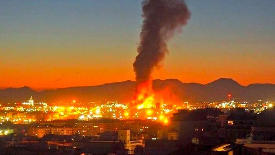 В Испании взорвался нефтехимический завод: есть погибший и пострадавшие
