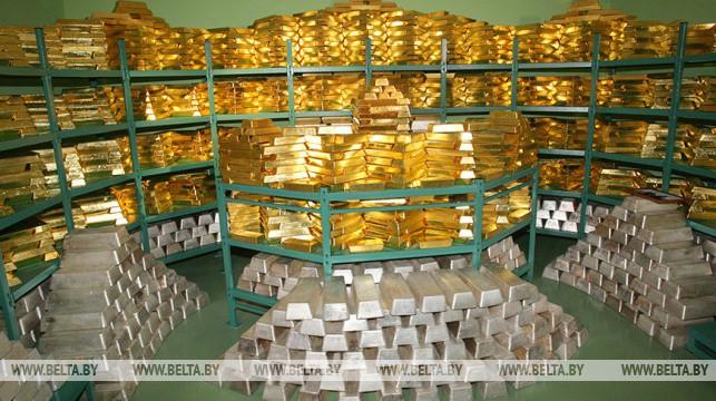 Золотовалютные резервы Беларуси выросли до $8,6 млрд