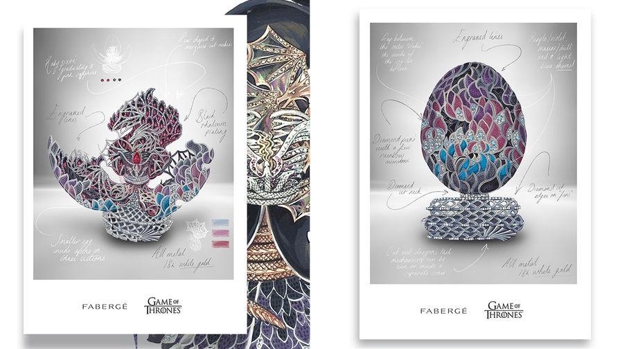 «Фаберже» создаст драгоценное яйцо в честь десятилетия «Игры престолов»