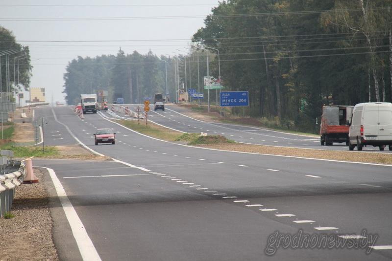 4 июня на М6 для откроют 30-километровый участок автомагистрали по четырем полосам