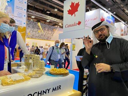 Продукцию «Молочного Мира» оценили в Дубае