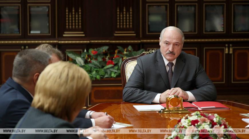 Александр Лукашенко рассмотрел кадровые вопросы