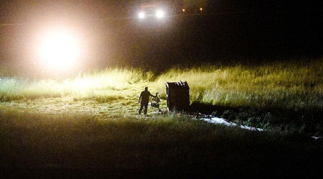 Воздушный шар упал в Германии, пострадали 11 человек