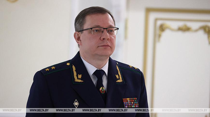 Андрей Швед: криминогенная ситуация в Беларуси находится под полным контролем правоохранителей