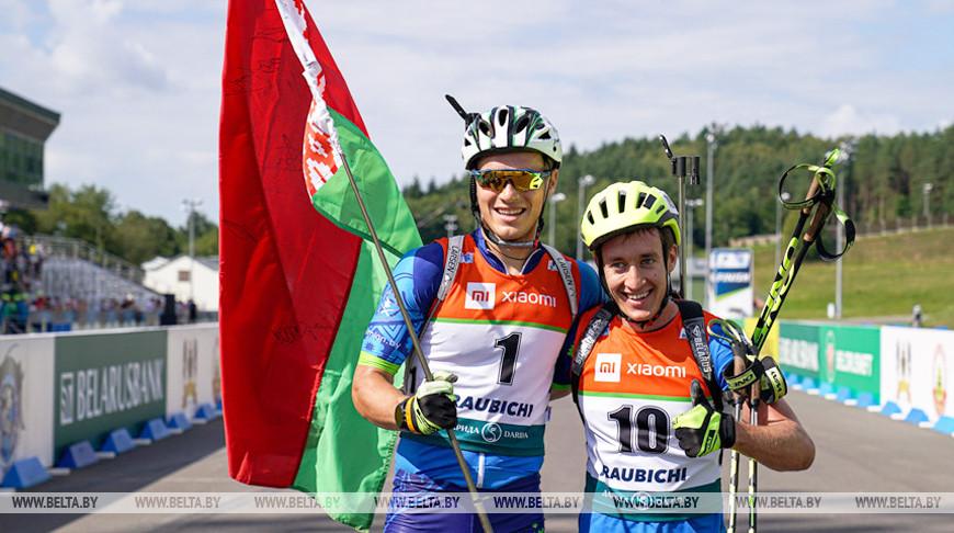 Александр Лукашенко поздравил юниорскую сборную по биатлону и ее лидера с достойным выступлением на ЧМ