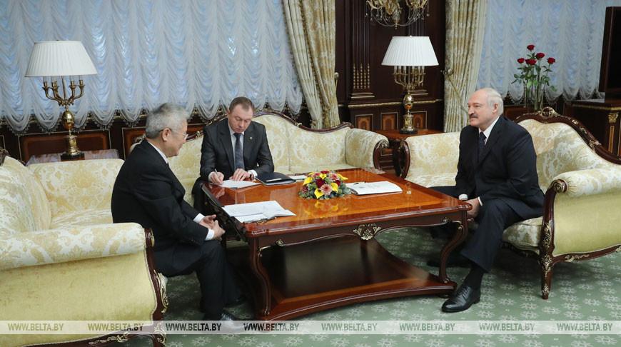 Александр Лукашенко рассчитывает нарастить сотрудничество с Китаем