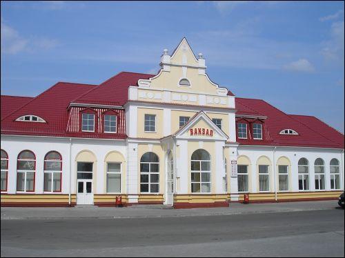 Станцию Слоним обновят к Дню белорусской письменности