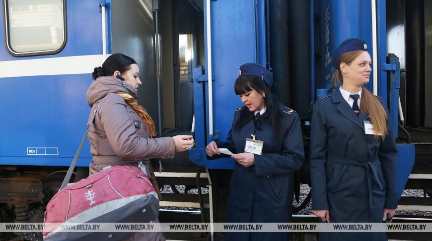 Тарифы на внутренние пассажирские ж/д перевозки повышаются в Беларуси