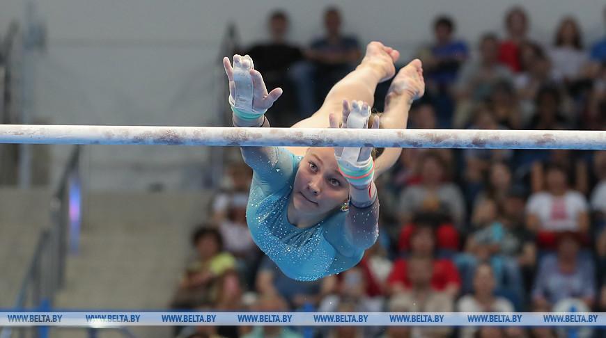 Белоруска Анастасия Алистратова завоевала олимпийскую лицензию на ЧМ по спортивной гимнастике в Германии