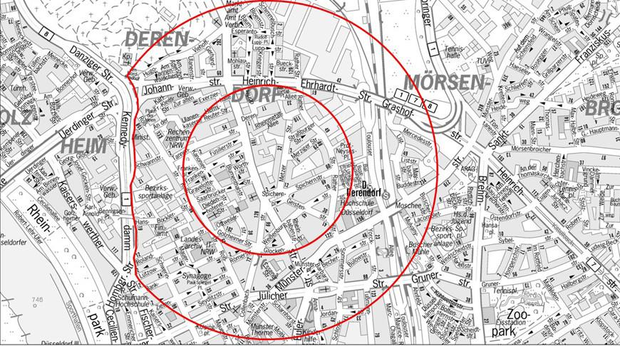 Более 11 тыс. человек эвакуировано в Дюссельдорфе из-за бомбы времен Второй мировой войны