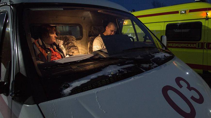 Автобус из Беларуси попал в ДТП под Псковом