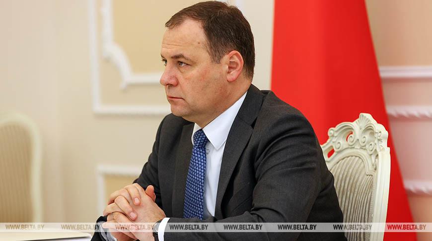 Беларусь заинтересована расширить свое участие в работе Энергетического клуба ШОС — Роман Головченко