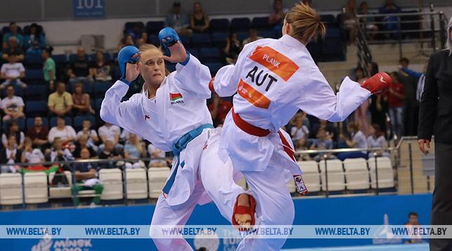 Белоруска Мария Кулинкович завоевала бронзу турнира по карате на II Европейских играх