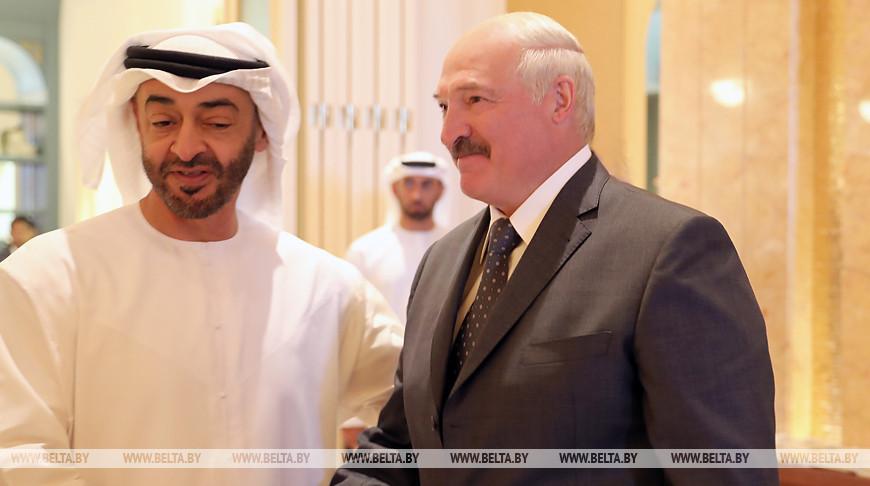 Александр Лукашенко обсудил с наследным принцем Абу-Даби реализацию белорусско-эмиратских договоренностей