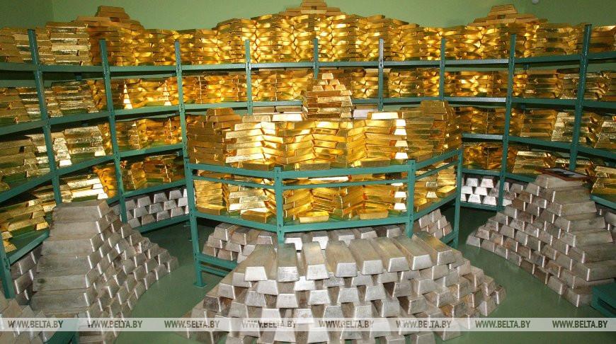 Золотовалютные резервы Беларуси составили почти $9,2 млрд