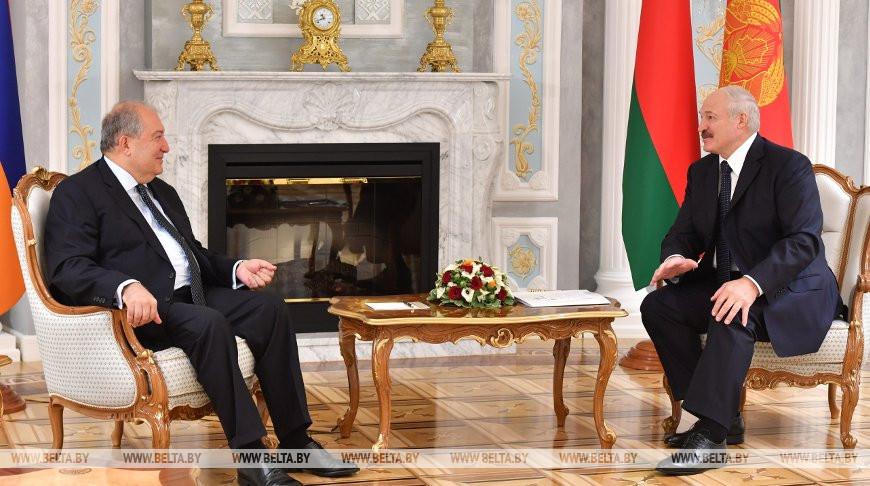 Александр Лукашенко: Беларусь и Армения нацелены на эффективное партнерство во всех областях