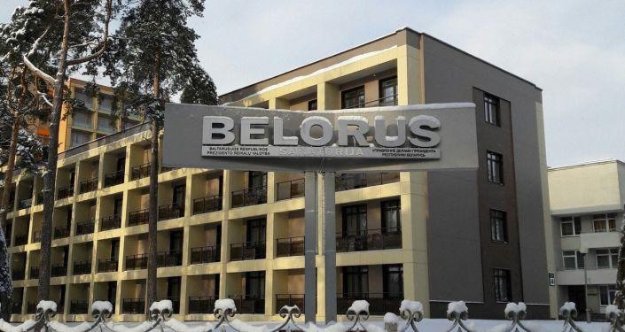 Санаторий «Беларусь»: дальше только через суд. На петицию работников власти Литвы не ответили, автопробег из Друскининкая в Вильнюс в поддержку здравницы запретили