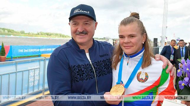 Александр Лукашенко направил поздравления белорусским гребцам — победителям II Европейских игр