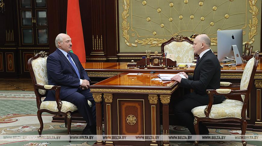 Александр Лукашенко провел рабочую встречу с председателем КГК