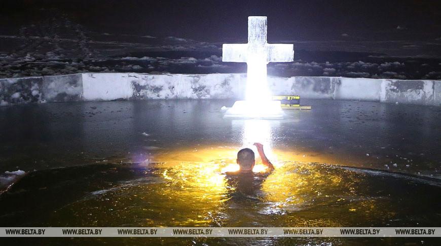 Безопасность во время крещенских купаний в Беларуси обеспечат около 400 спасателей ОСВОД