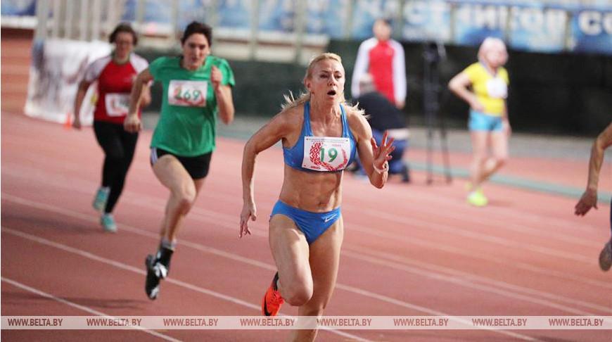 ФОТОФАКТ: Открытый чемпионат Беларуси по легкой атлетике среди ветеранов