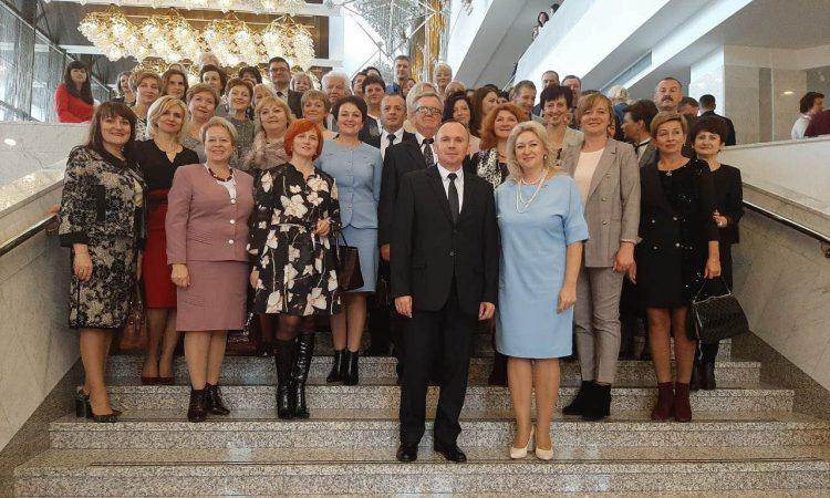 Делегация Гродненской области принимает участие в Республиканском дне учителя в Минске