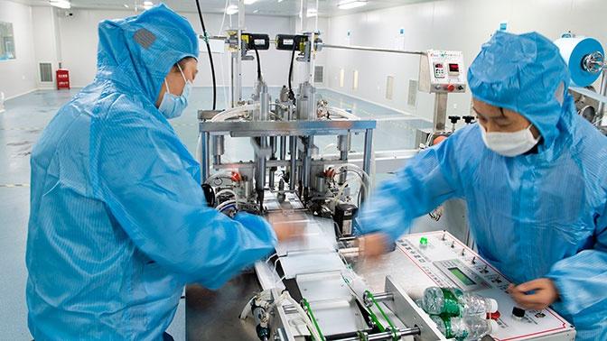 В Китае начали производить первое лекарство от коронавируса. Что это?