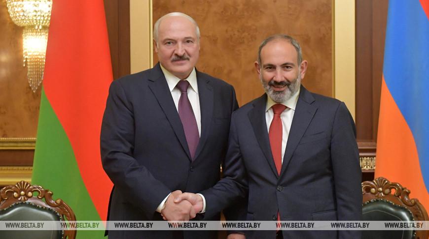 Александр Лукашенко: политика Беларуси в отношении Армении никогда не изменится, мы всегда будем братьями