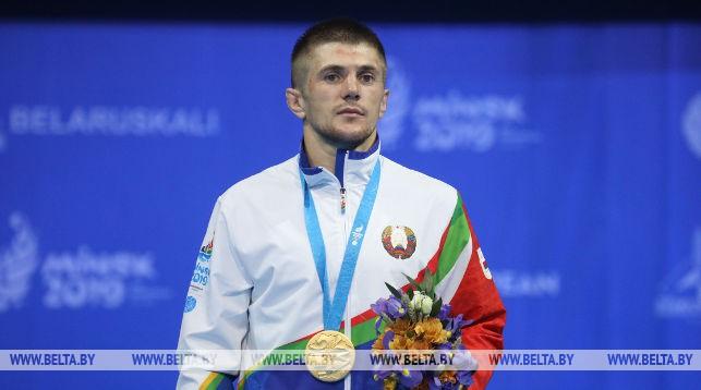 Белорусский самбист Александр Кокша стал чемпионом II Европейских игр