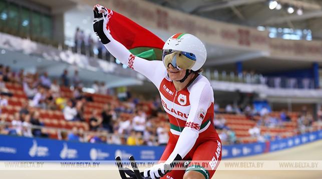 Белорусская велосипедистка Татьяна Шаракова стала чемпионкой II Европейских игр