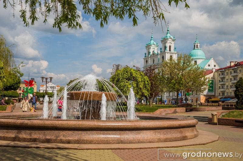 1 мая заработают фонтаны, а в Пышках будет большой концерт