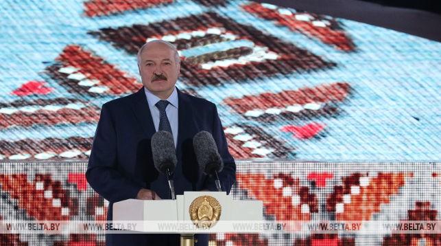 Александр Лукашенко: праздник «Купалье» стал ярким символом братской дружбы народов Беларуси, России и Украины