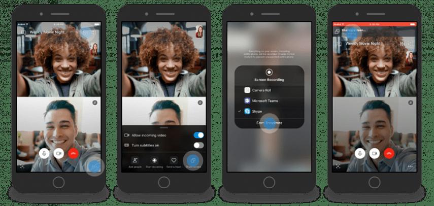 В мобильной версии Skype появилась долгожданная функция