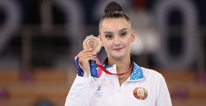 Алина Горносько стала бронзовым призером олимпийского турнира по художественной гимнастике