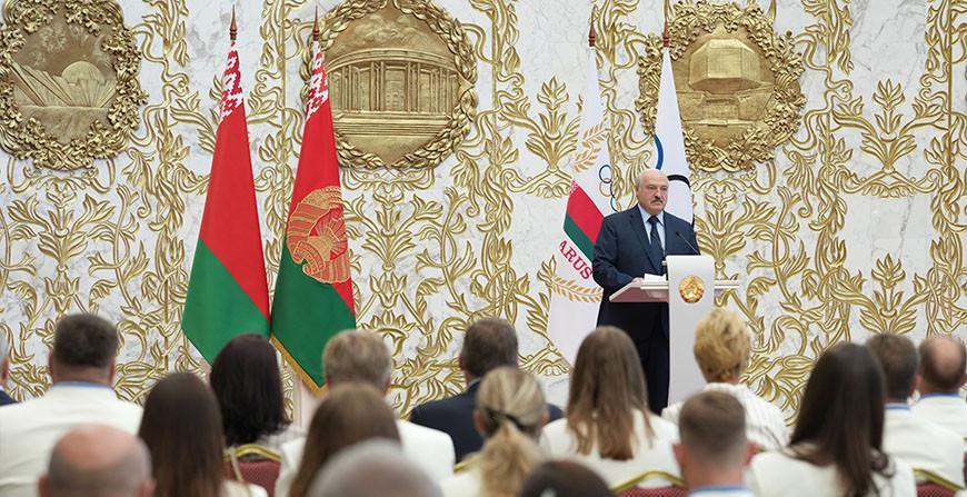 Александр Лукашенко - олимпийцам: спортивные достижения - не только личный триумф