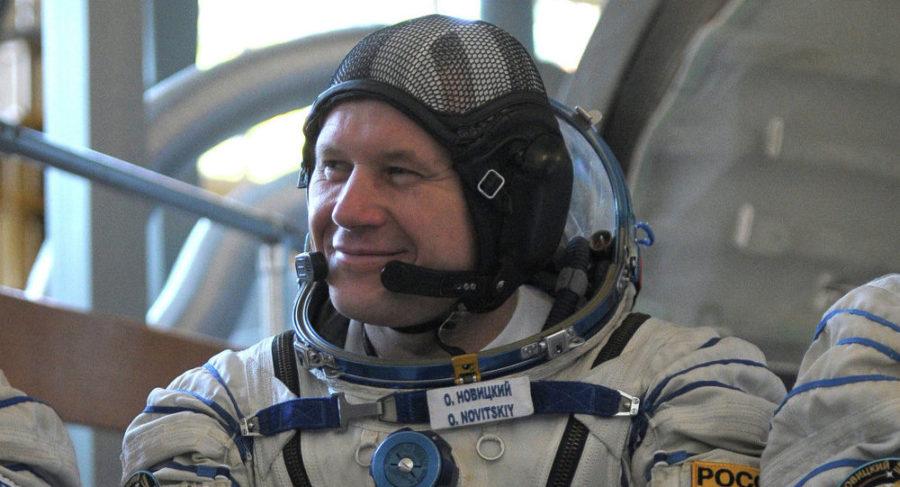 Космонавт Олег Новицкий готовится к третьему полету