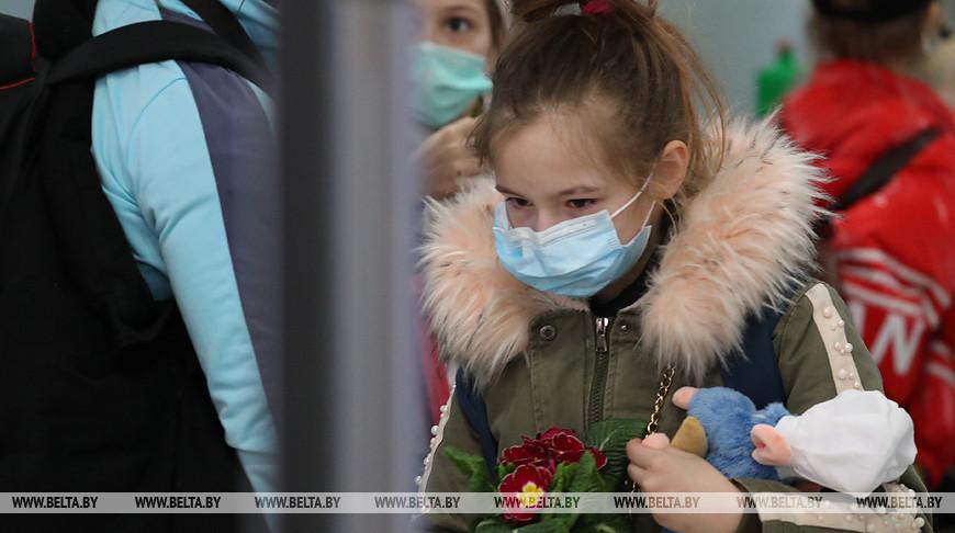 Три автобуса с белорусскими детьми вернулись из Латвии