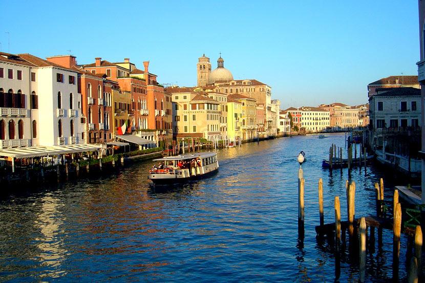 Каналы Венеции практически пересыхают