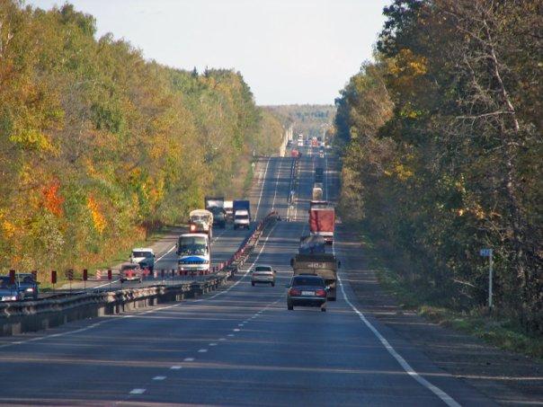 М7: 106 километров обновления. Началась подготовительная работа по реконструкции участка магистрали Минск-Вильнюс